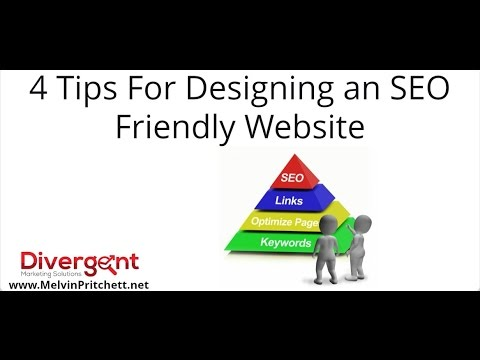 4 Tips For Designing an SEO Friendly Website