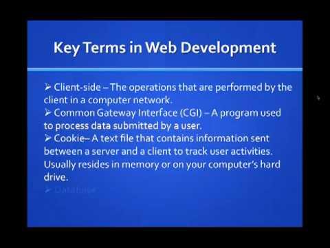 Fundamentals of Web Design | Vol. 2 – Terminology