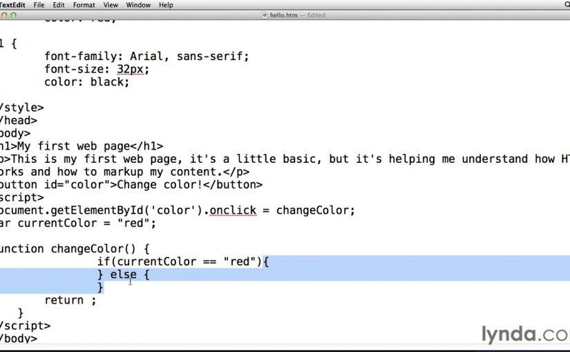 Web Design Fundamental- Learning javascript