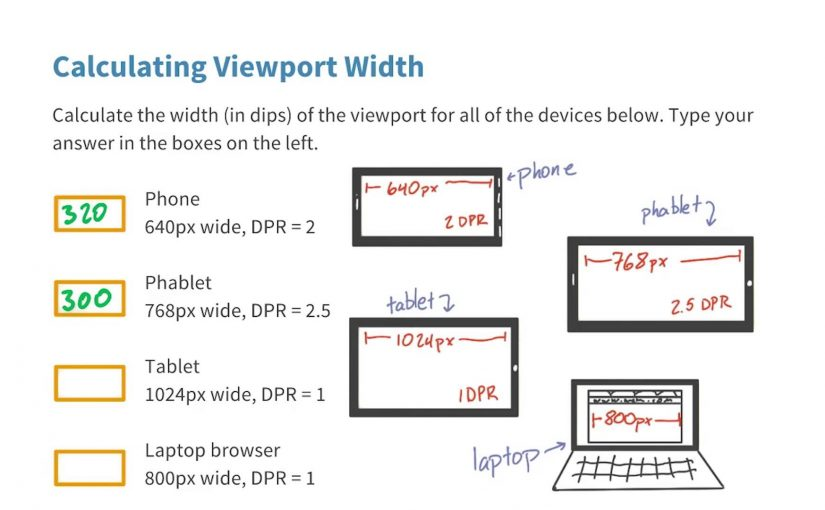 How wide is the viewport? Solution – Responsive Web Design Fundamentals