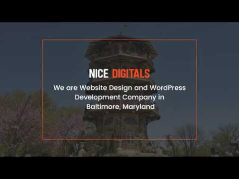 Website Design and WordPress Development Company in Baltimore, Maryland