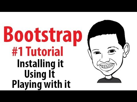 Bootstrap #1 Tutorial – What is bootstrap , how to use it , how to install it
