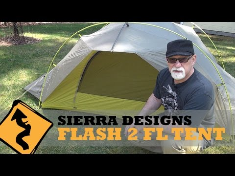 Motorcycle Camping: Sierra Designs Flash 2 FL Tent