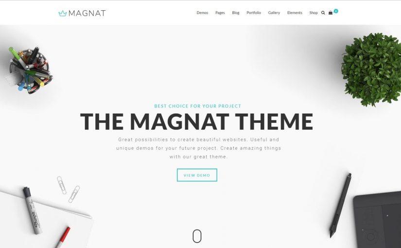 Magnat – Responsive Multi-Purpose WordPress Theme
