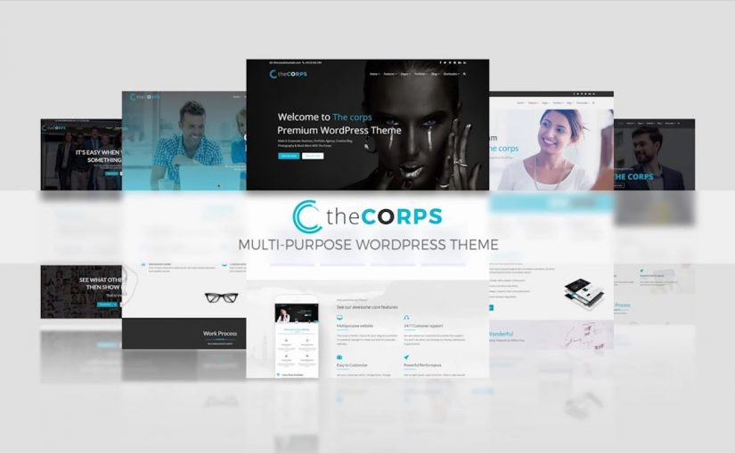 The Corps – Multi-Purpose WordPress Theme – Instructional Video – Visual Composer [THEMEFOREST]