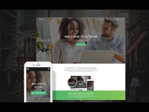 Intense – Multipurpose HTML Template #58888