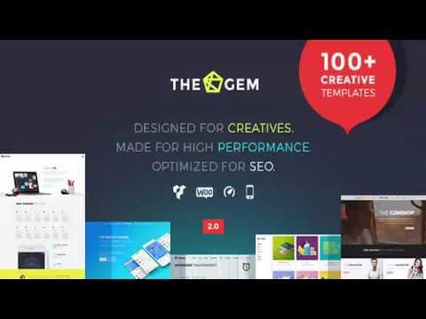 TheGem – Creative Multi-Purpose High-Performance WordPress Theme | Themeforest Website Templates