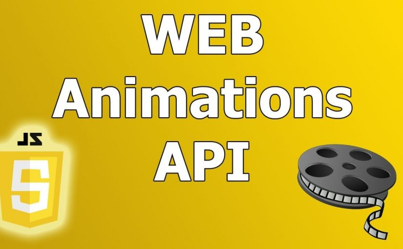 Web animation API Qué es y como usarla