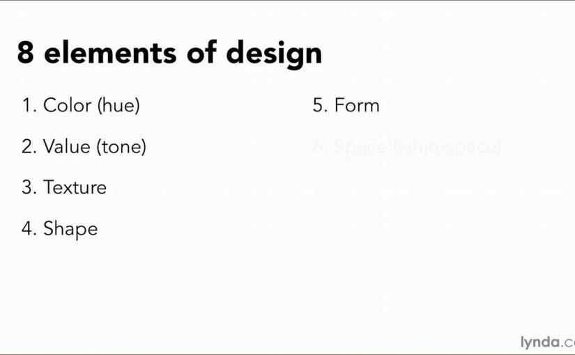 Web design aesthetics tutorial: Understanding the elements of design | lynda.com