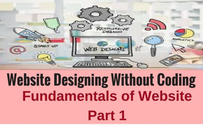 Website Designing without Coding: Fundamentals of Website Part 1
