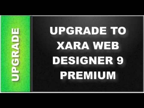 Web Design Tutorials for Xara Web Designer 9 Premium: Upgrade Lesson 110