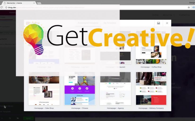 Creative Art directions & layout inspirations for web design