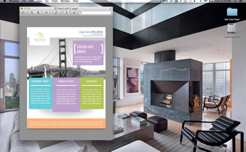 How to Design a Multi-Purpose Flyer using PhotoShop
