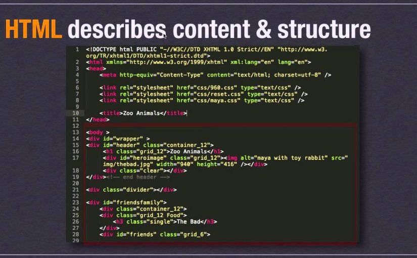 HTML Fundamentals Part 1