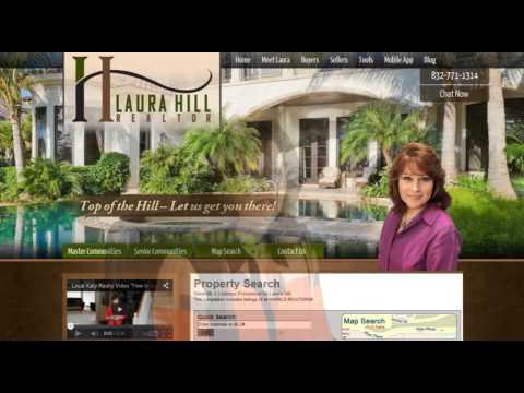 Real Estate Website Design, Katy