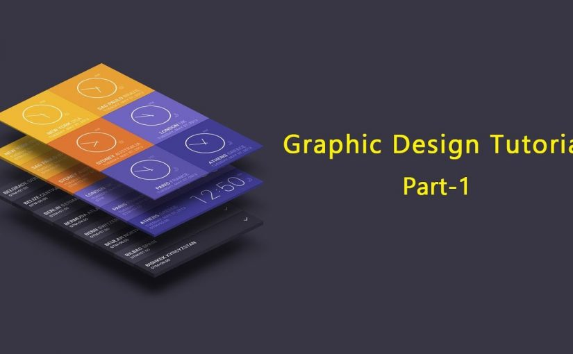 Graphic Design Tutorial for Beginners Part 1 ...