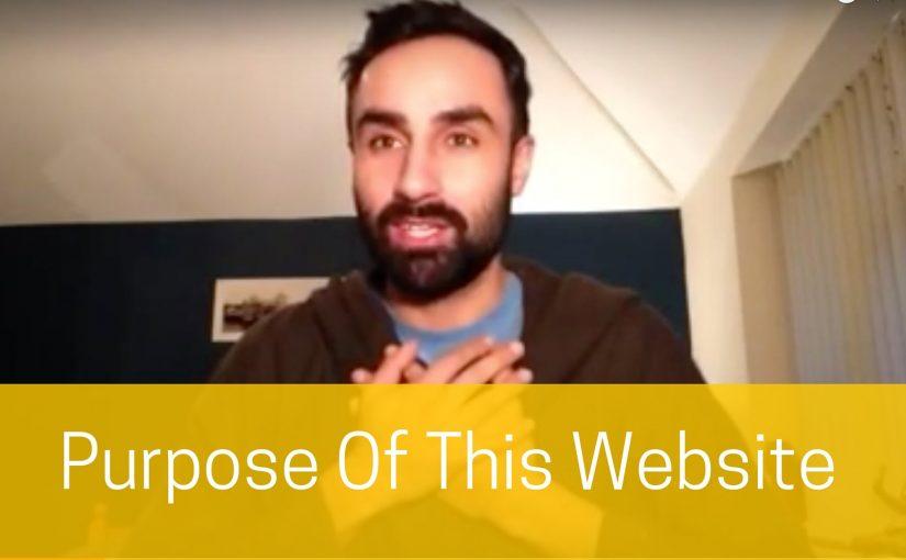 Purpose Of This Website