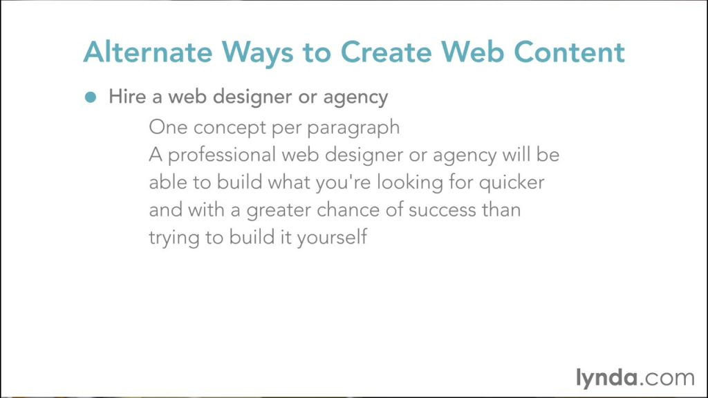 Web Design Fundamental – Design Right