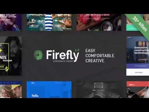 Firefly – Responsive Multi-Purpose WordPress Theme   Themeforest Website Templates and Themes