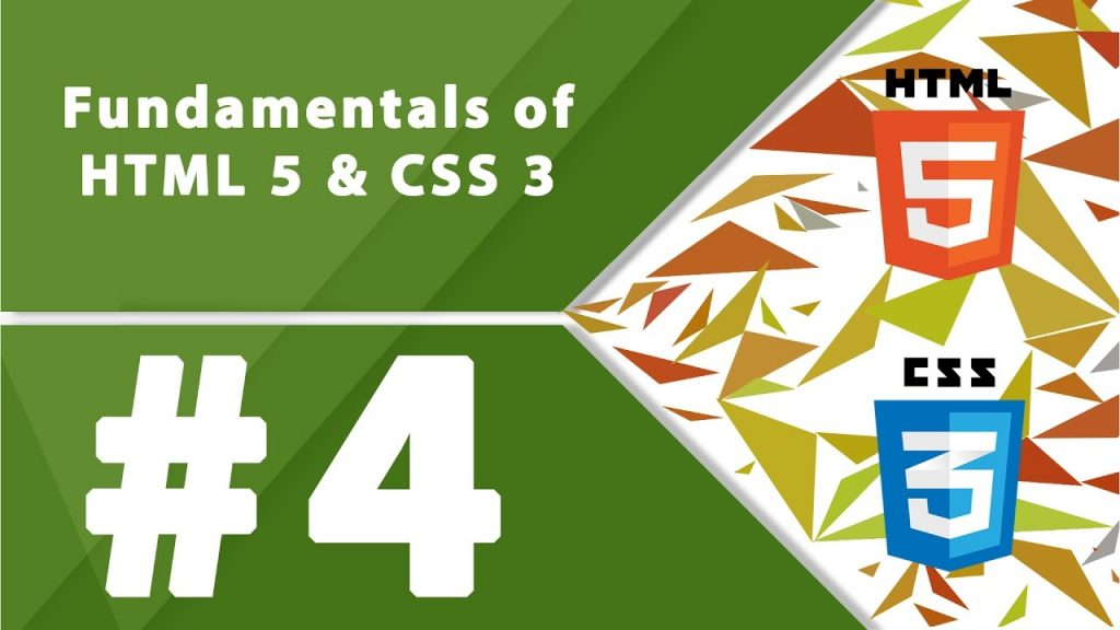 Fundamentals of HTML5 and CSS3- Part 4- by millionlights