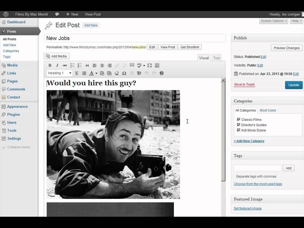 Niagara Web Design Talks about WordPress