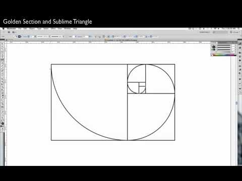 Web Design Fundamentals: Creating a golden section and subli
