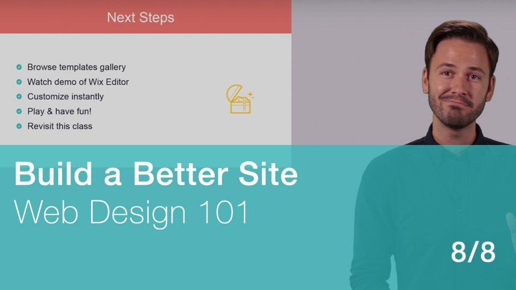 Web Design 101 – 8/8