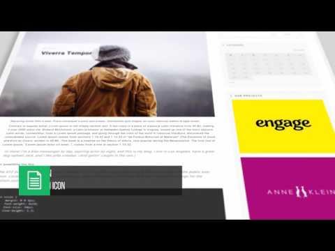 WEBI   Multi Purpose Website Presentetion After Effects Template
