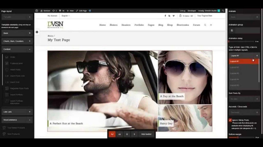 Division – WordPress Responsive Multi-Purpose Theme Preview