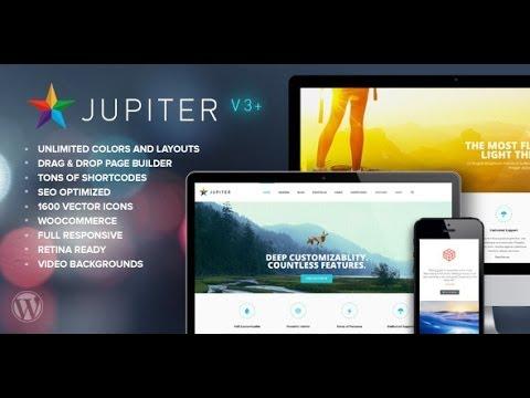 Download 'Jupiter' Multi-Purpose Responsive WordPress Theme