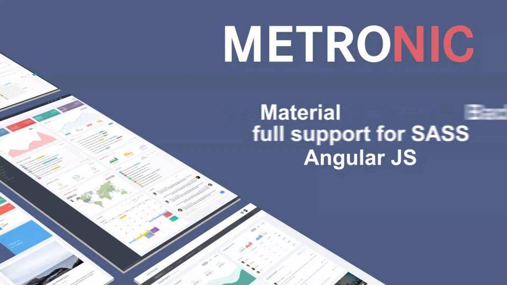 Metronic – #1 Selling Multi-purpose Bootstrap Based Admin Theme