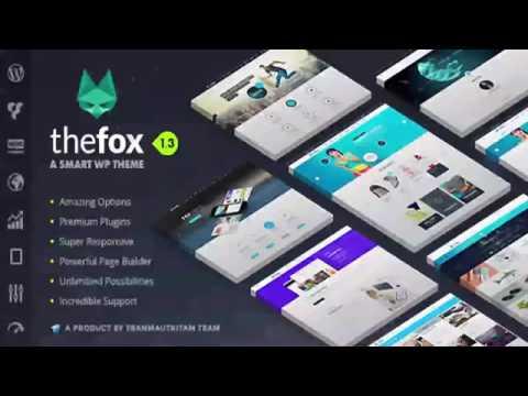 TheFox | Responsive Multi-Purpose WordPress Theme | Website Templates and Themes