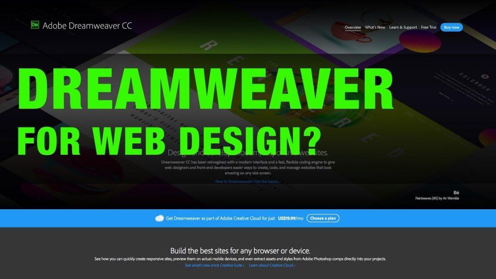 Web Design Tutorial with Dreamweaver? Are You Sure?