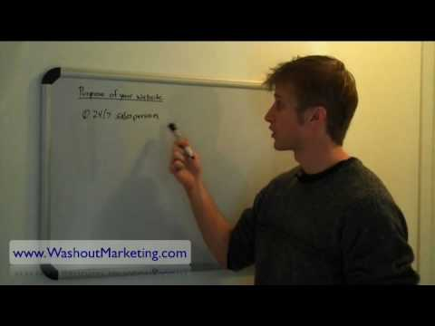 Small Business Internet Marketing – Purpose of a Website