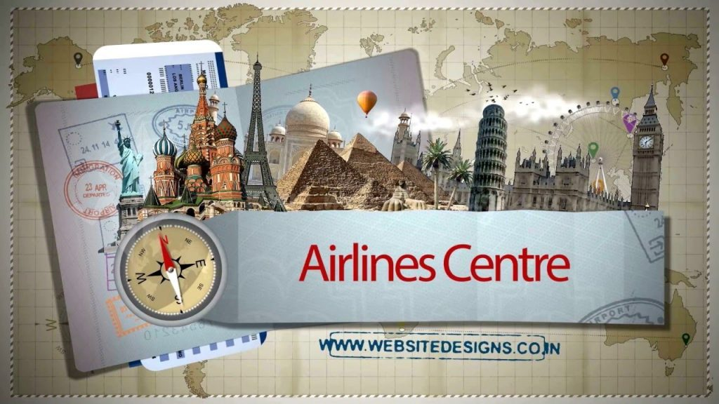 """Airlines Centre – An """"Ad!/T&E*"""" by » Website Designs «"""