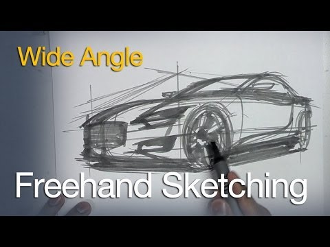 How to Sketch and Design – Vehicle Design and Sketching Tutorials