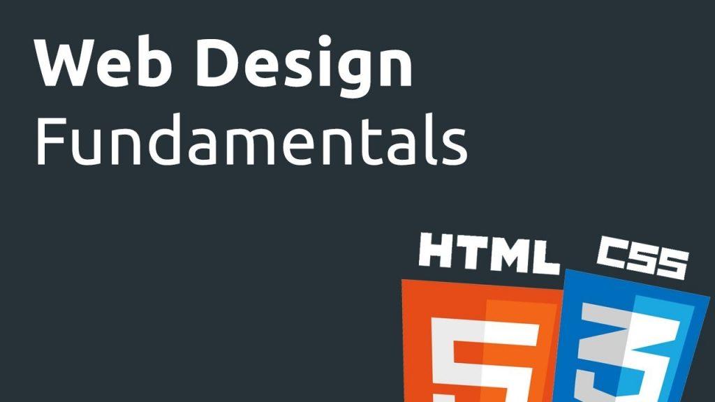 Web Design Fundamentals  – Lesson 1