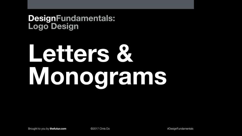 Design Fundamentals: Logo Design monogram