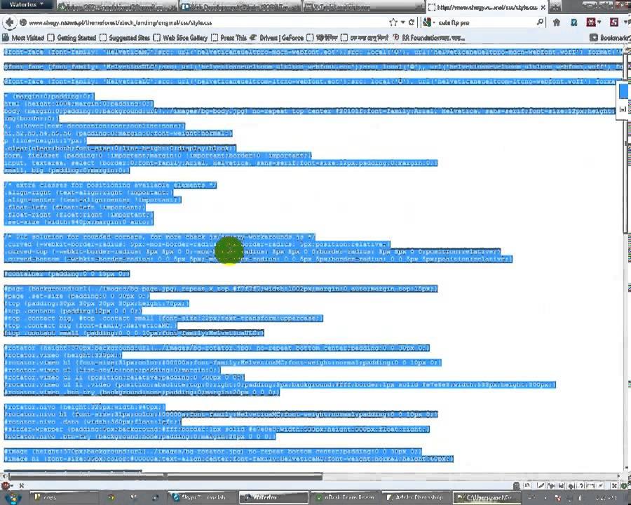 Web Design Bangla Tutorial : Part 13 : How to copy HTML site manualy