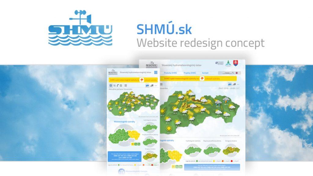 SHMÚ webdesign – Photoshop speedart