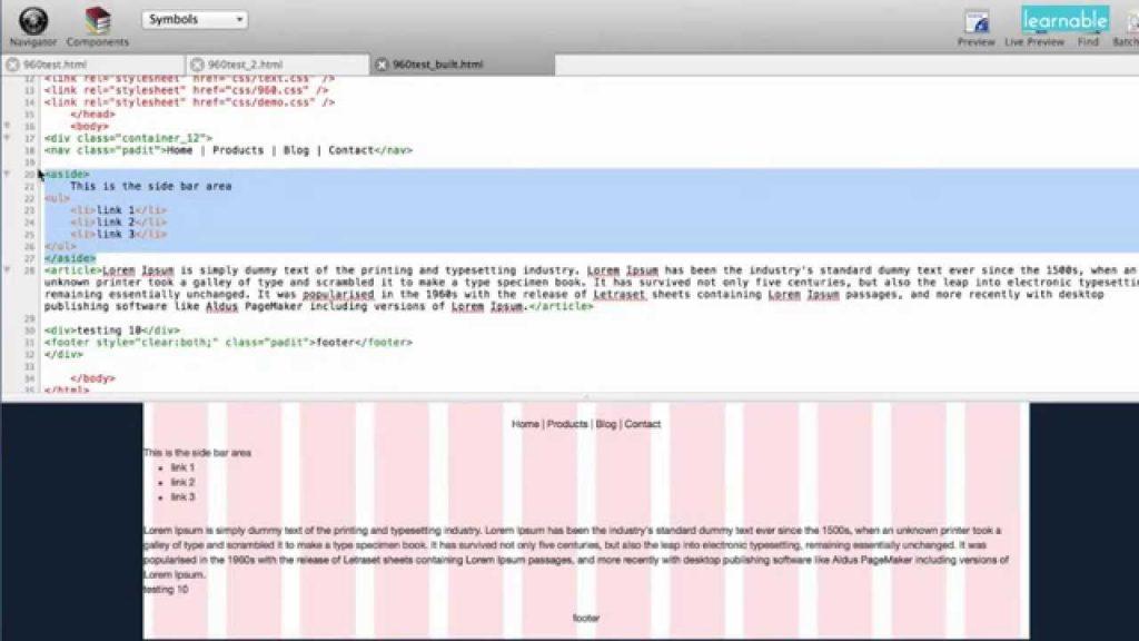 Simple Website Alignment with Grids, Brett Romero