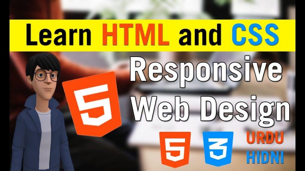 14- Learn HTML and CSS – Responsive Web Design [Urdu -Hindi]