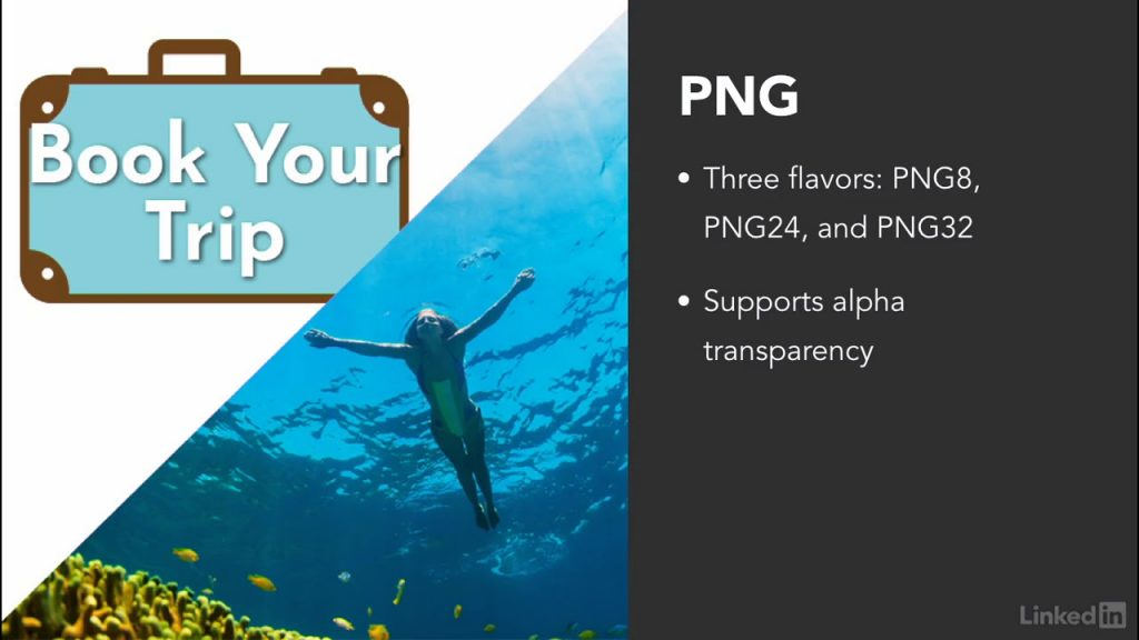 27 Image types for the web – Lynda – Photoshop for Web Design