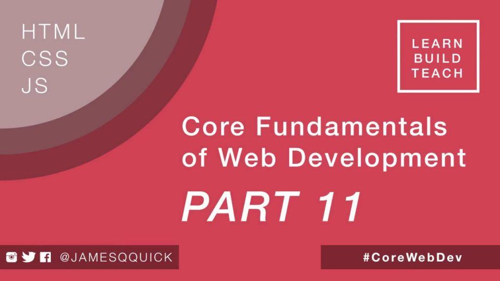 Core Fundamentals of Web Development Part 11 –  Responsive Design With Flexbox
