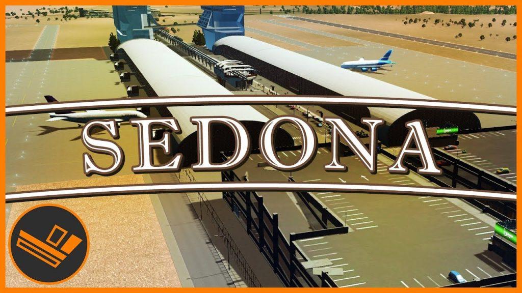 Sedona – Part 36   AIRPORT DESIGN (Cities: Skylines)
