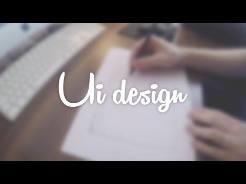 UI Design Process: From Sketch to GUI