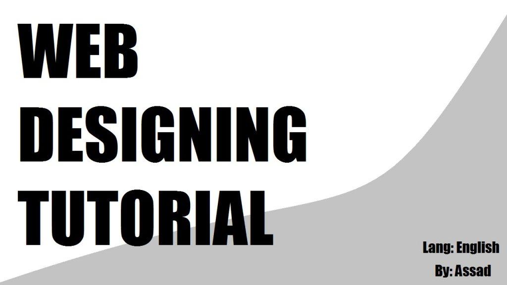 Web Designing Front End Development Tutorial (design 01) Part 1/2