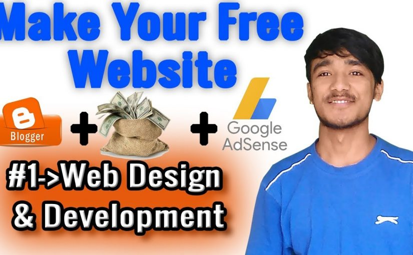 #1-Web Design And Development || Make Your Free Website/Blog.
