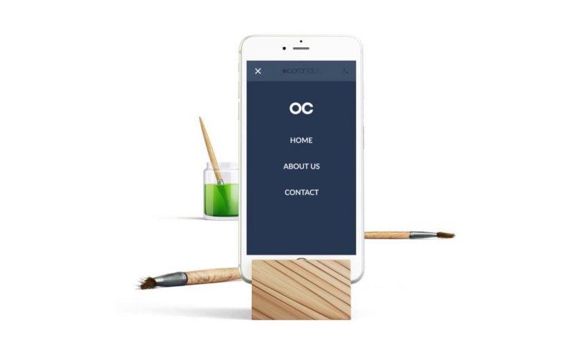 Corandus Mobile Website Flow
