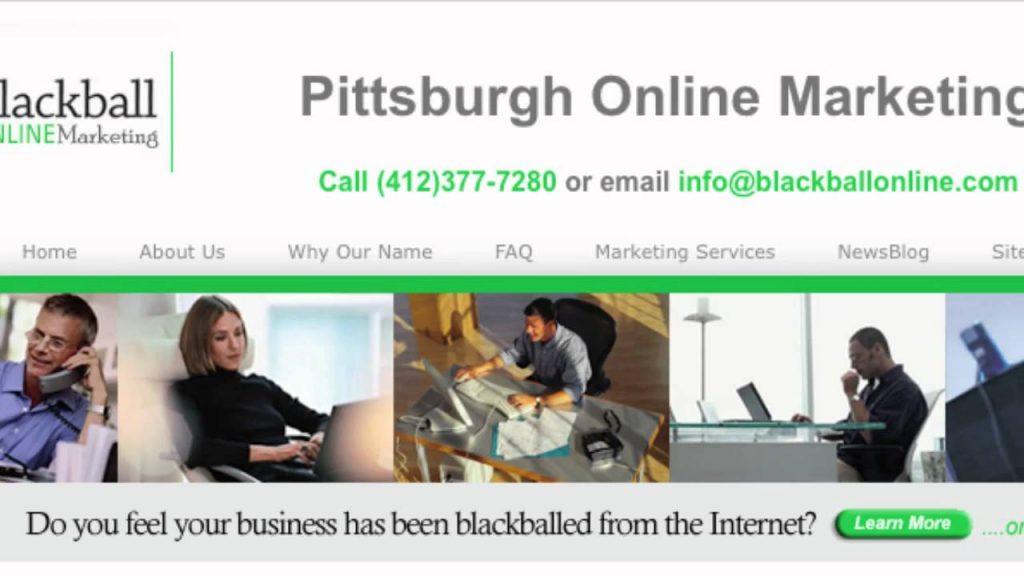 Pittsburgh Website Design Video – Blackball Online Marketing